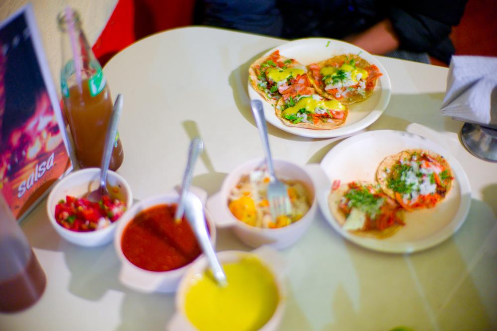 Tacos al Pastor (35 MXP)