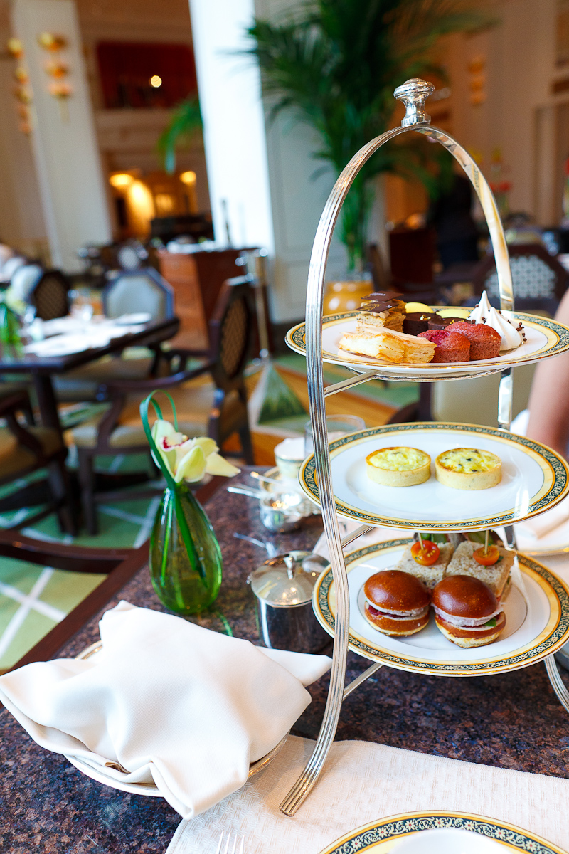 Traditional afternoon tea ($40)