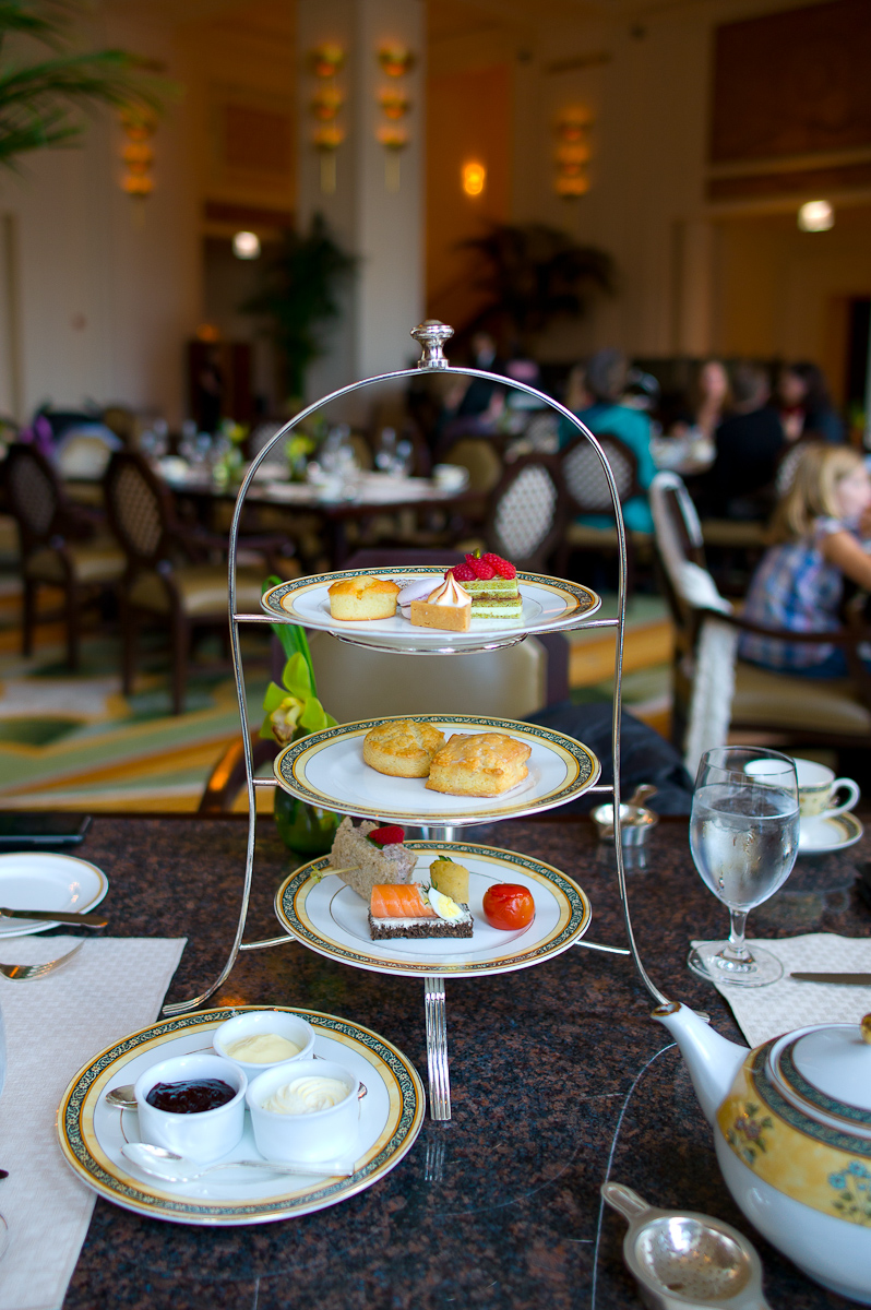 The Peninsula Afternoon Tea Service ($40)