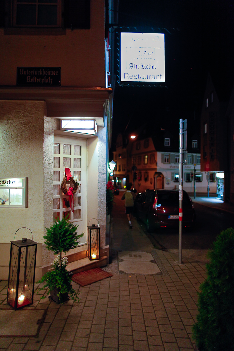 Alte Kelter restaurant