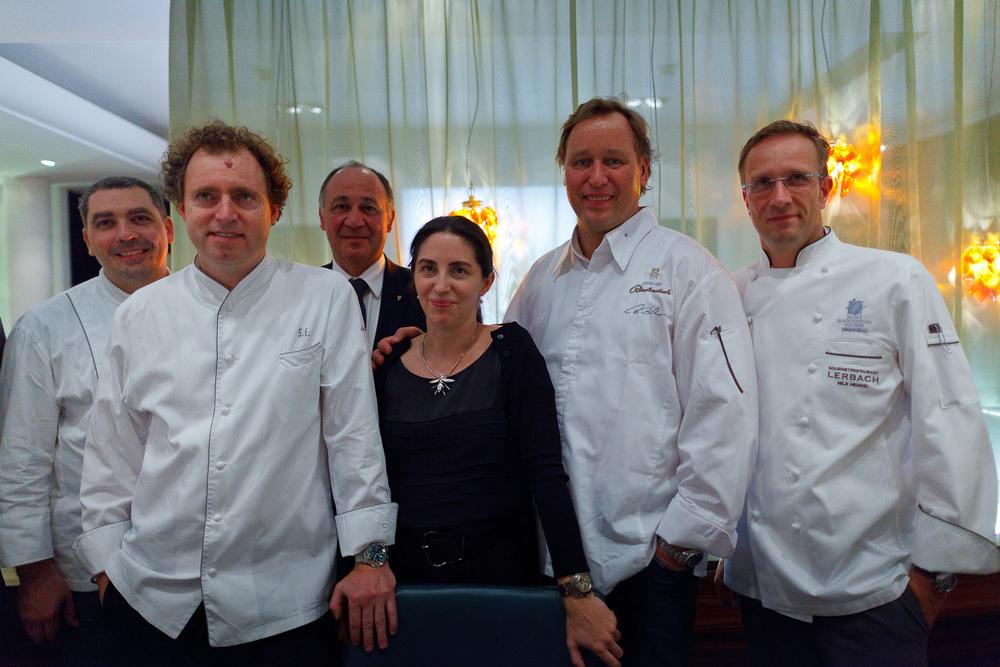 Christian Bau, Sven Elverfeld, Hotel Manager, Elena Arzak, Thomas Müler, Nils Henkel
