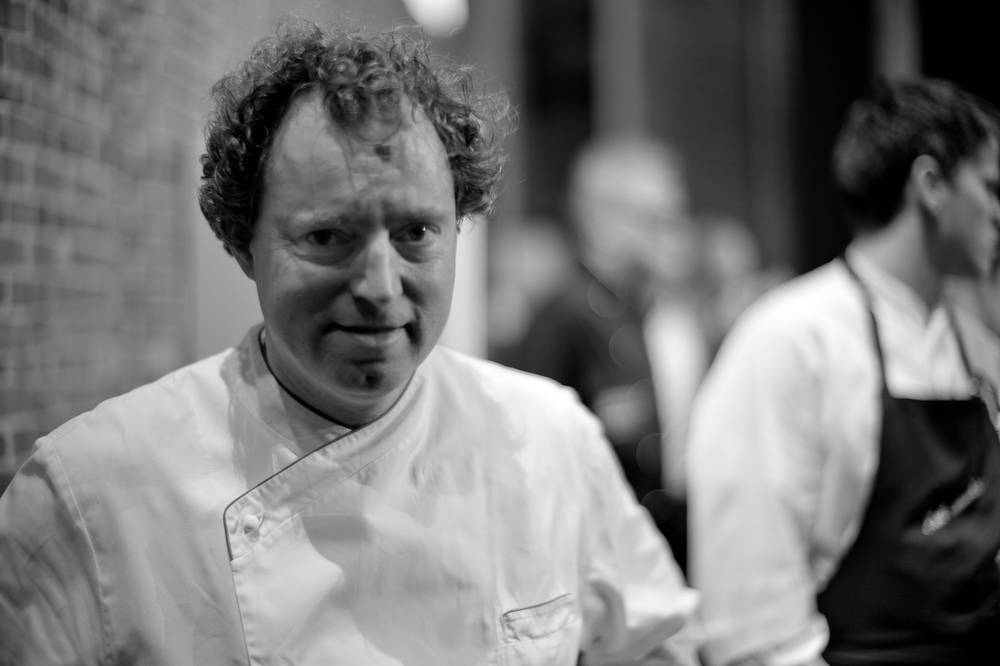 Portrait of Chef Sven Elverfeld, Aqua