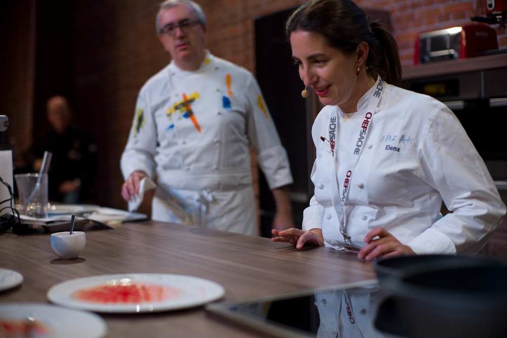 "Chef Elena Arzak presents ""crystal eye"""