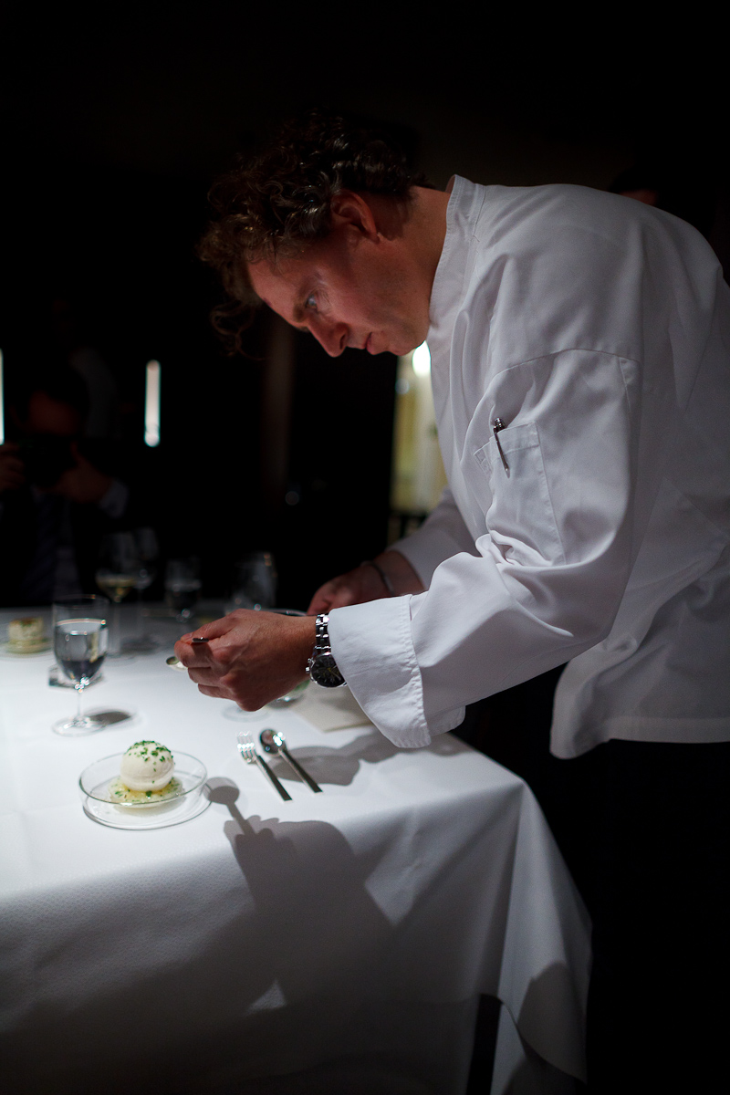 Portrait of Chef Sven Elverfeld