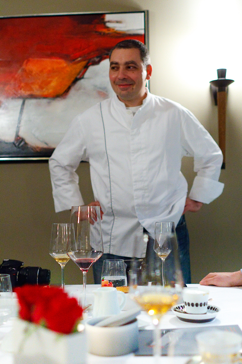 Portrait of Chef Christian Bau