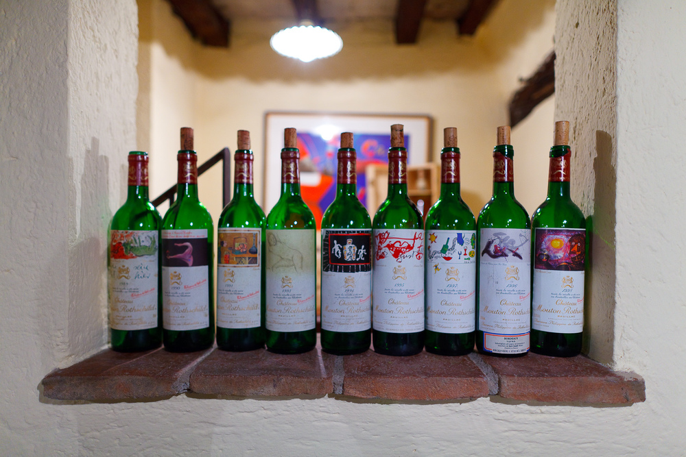 Collection of Château Mouton Rothschild