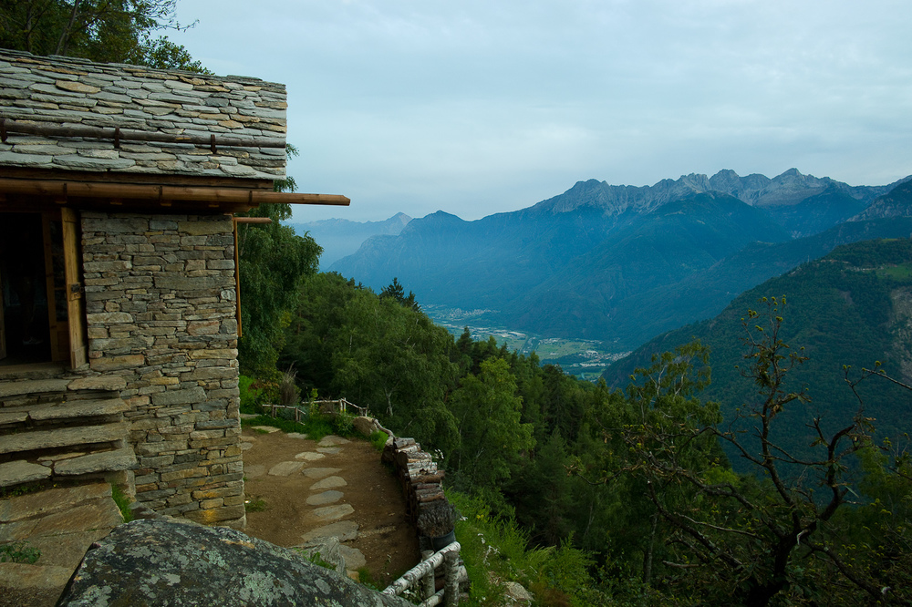 View from Presalbert, San Giacomo Filippo