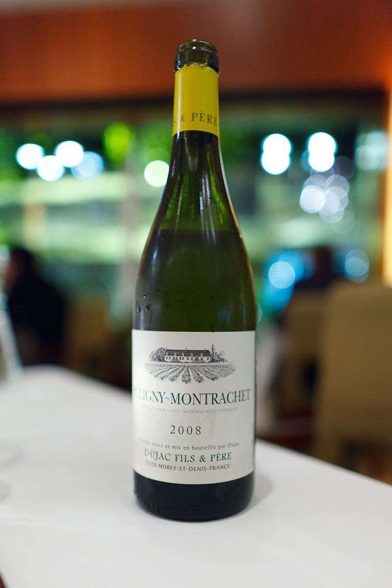 Pougliny-Montrachet, Dujas Fils & Pere, 2008