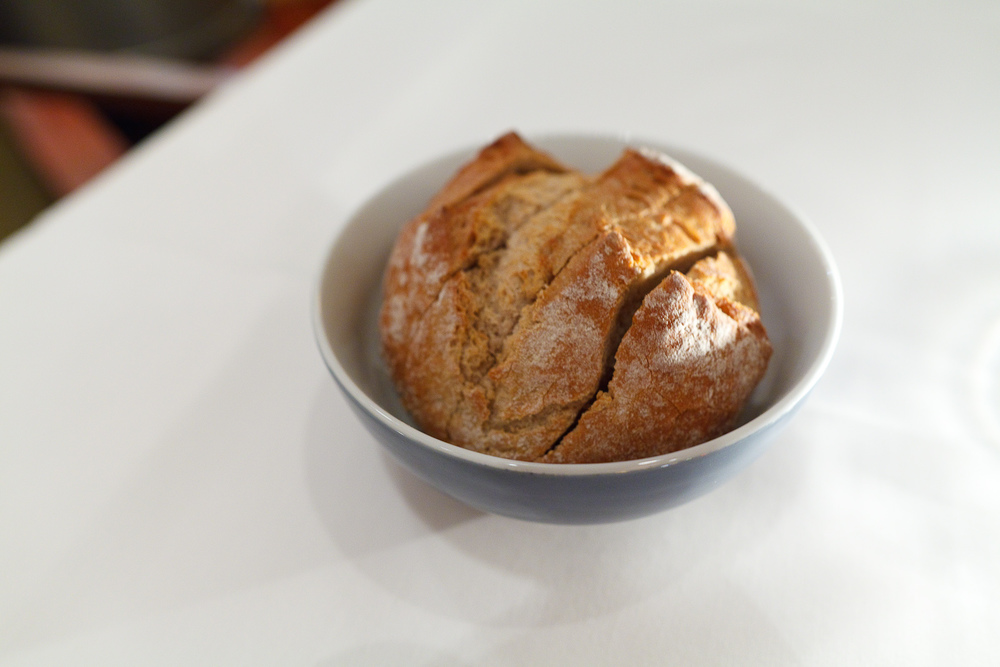 House made sourdough bread