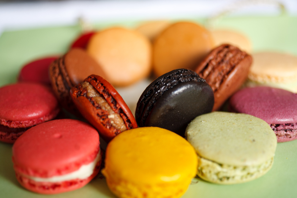 Circle of macarons