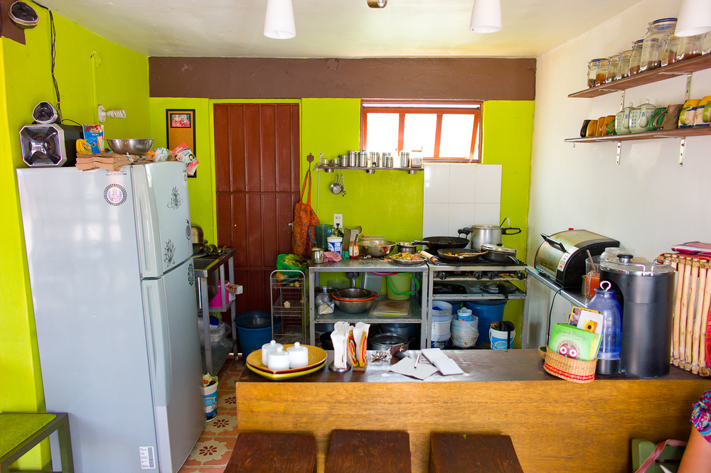 Kitchen of Shanti Roots