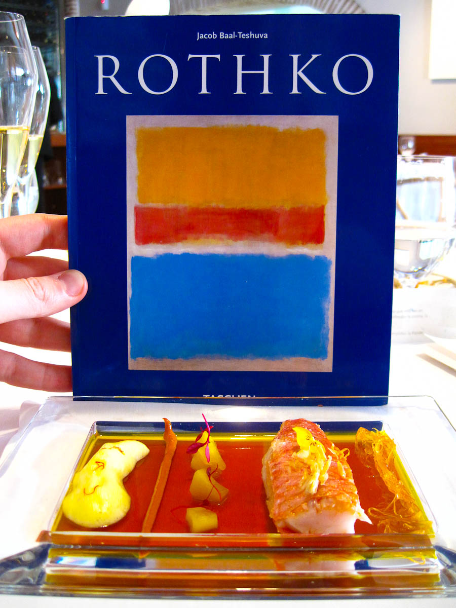13th Course: Mark Rothko Saffron