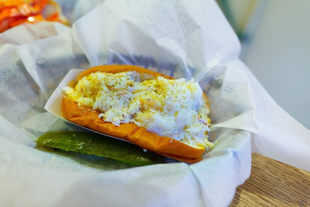 Crab roll ($10)