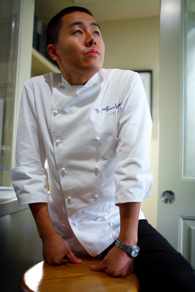 Portrait of Chef Corey Lee