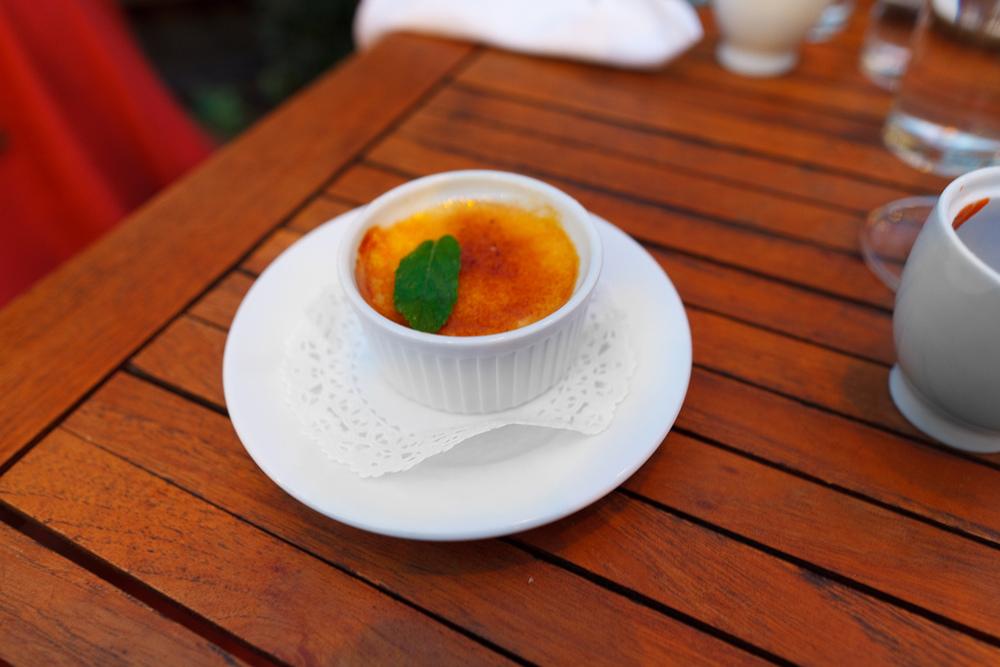Lavender crème brûlée ($7.50)