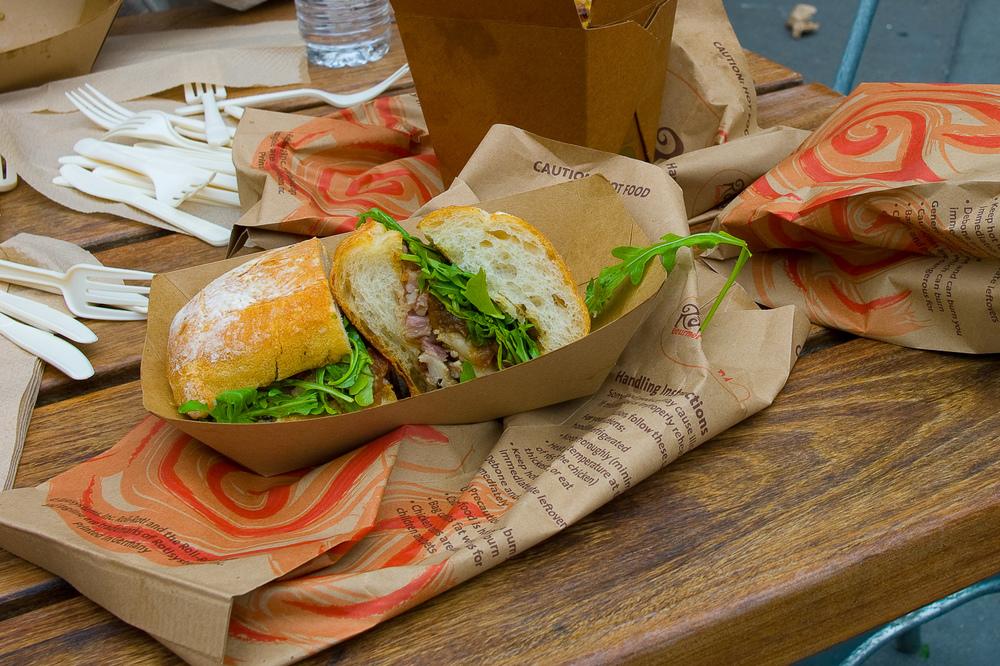 Porchetta sandwich ($8.50)
