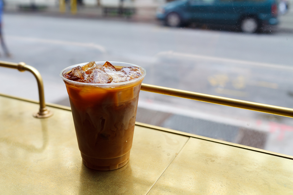 Cold-brew Iced Coffee ($3)