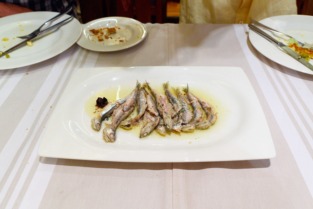Anchovies bermeo style (15€)