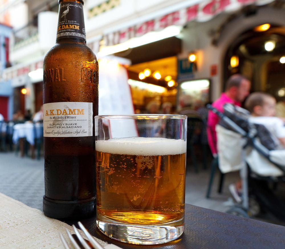 Cerveza A.K. Damm
