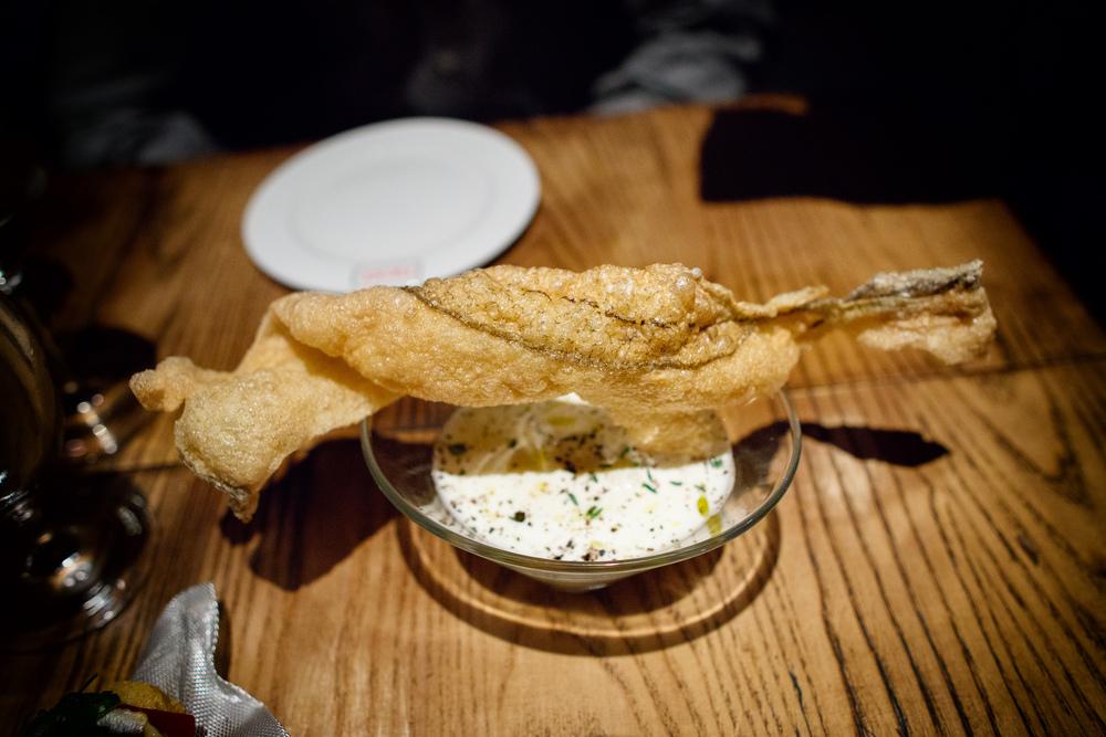 Brandada crujiente (Crispy salt cod)
