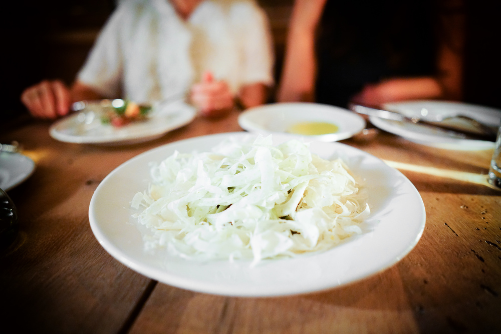 Fennel salad with Castelvetrano olives and provolone ($15)
