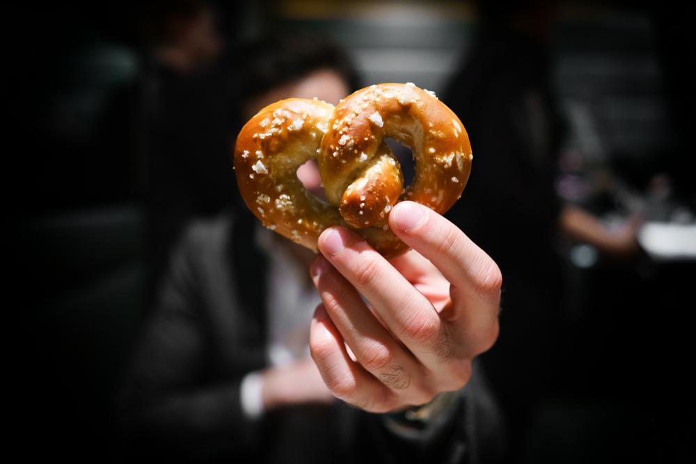 The pretzel