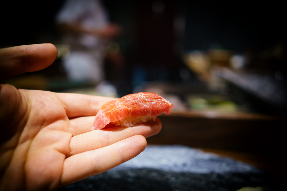 o-toro (fatty tuna)