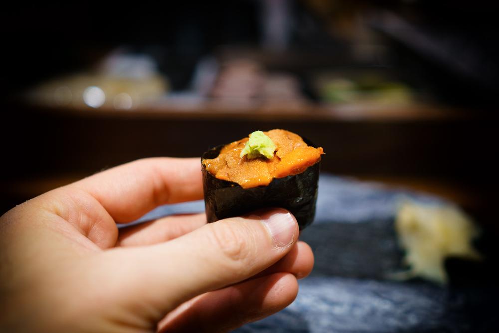 Hokkaido uni (sea urchin)