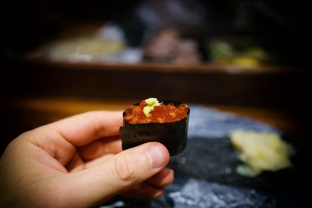 Ikura (salmon roe)
