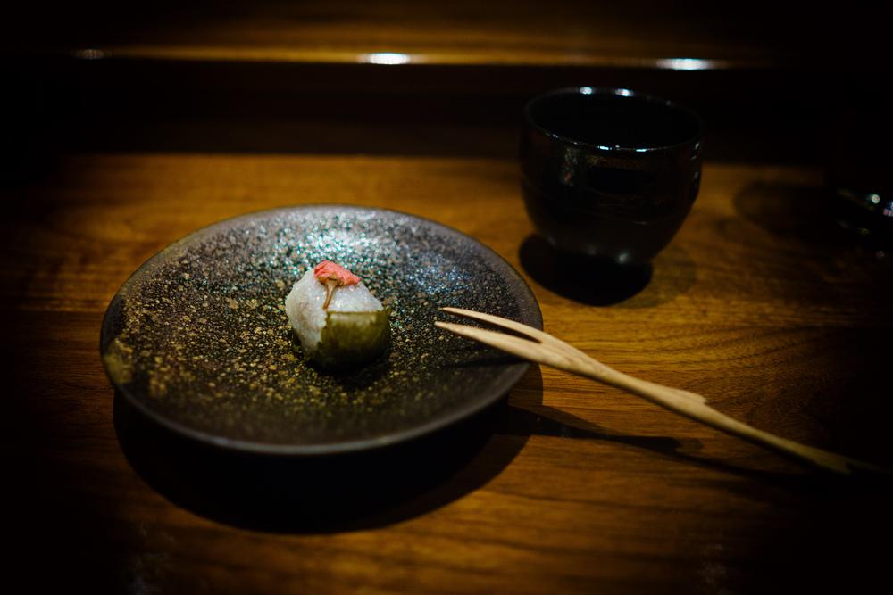 Sakura (cherry blossom) sweet rice