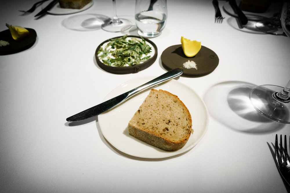 12th Course: Wattleseed Bread and Butter