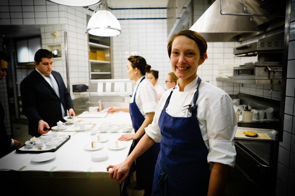 Pastry Chef Anna Bolz