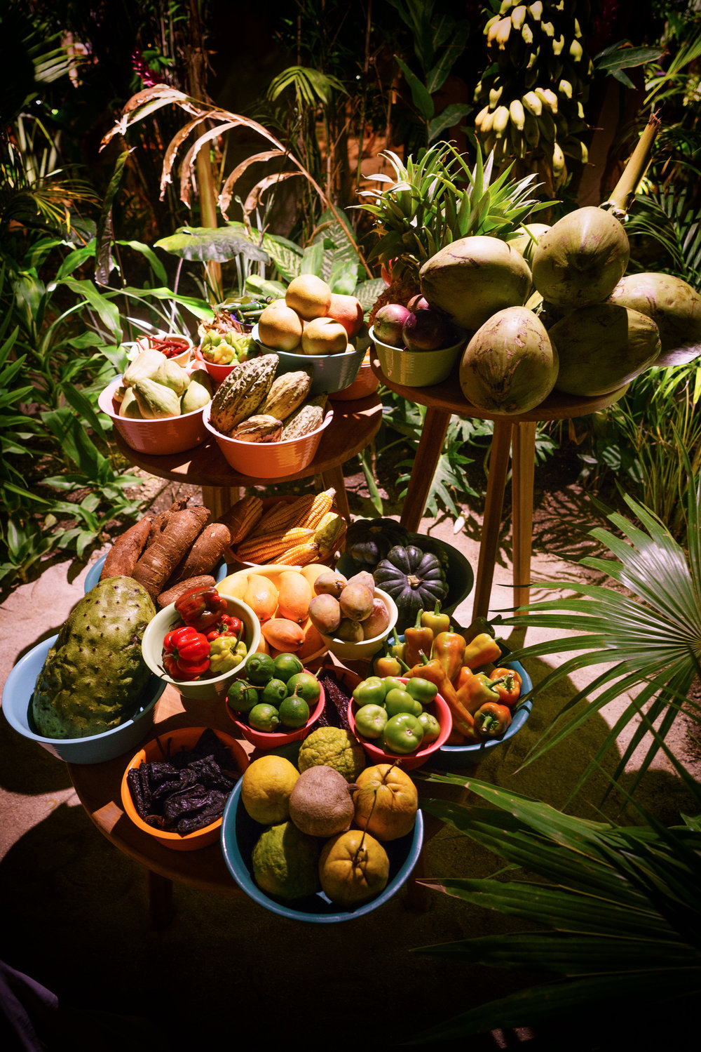 Local produce served at Noma, Mexico