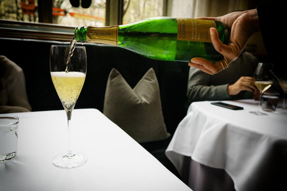 Champagne Corbon 2005