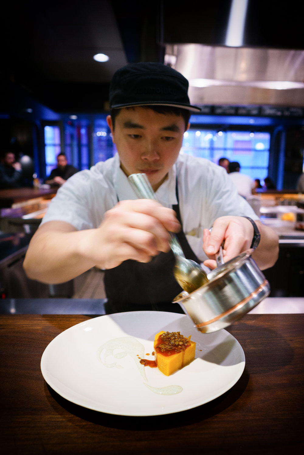 Duck - squash, serving