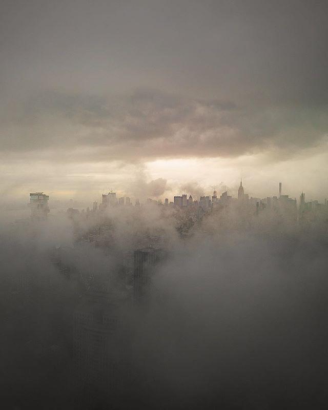 Summer fog #NYC