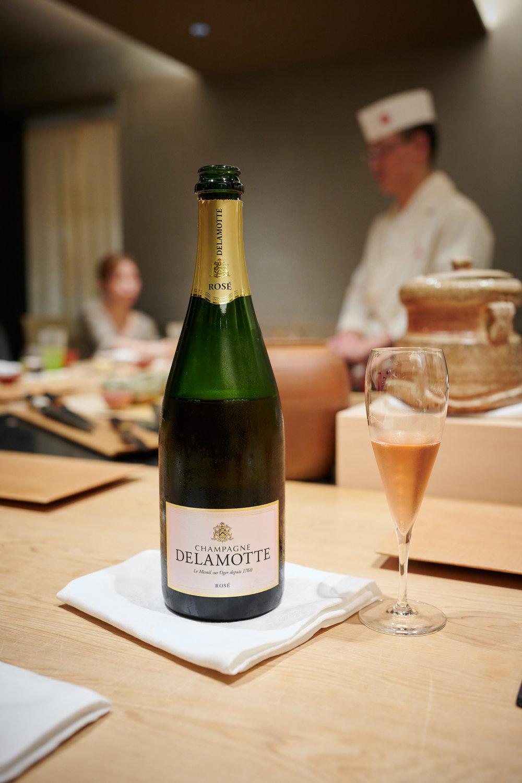 Champagne Delamotte, Rose