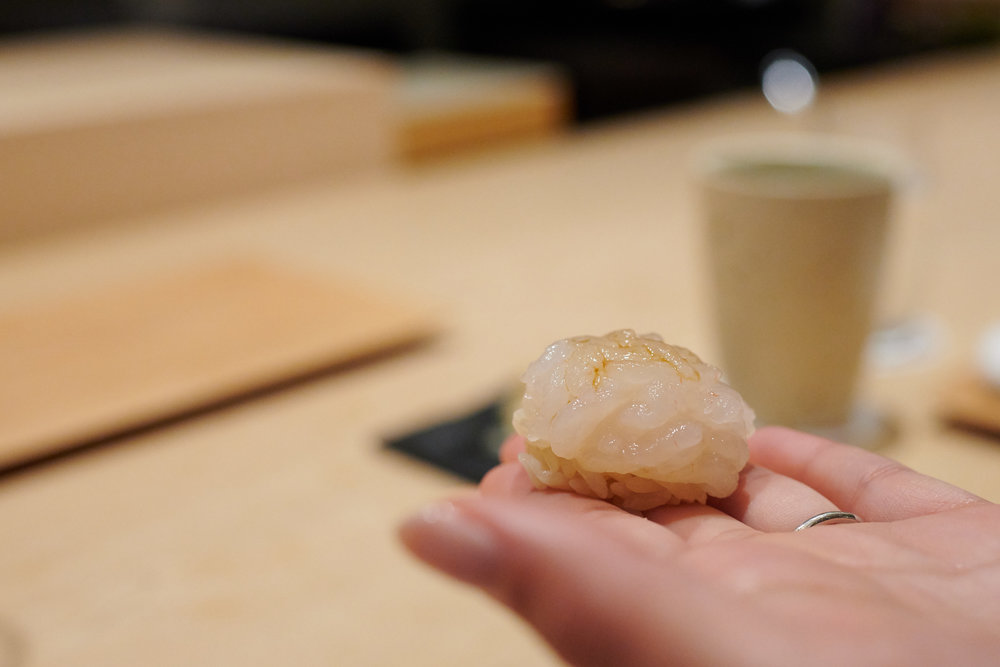 Shiro ebi (small white shrimp)