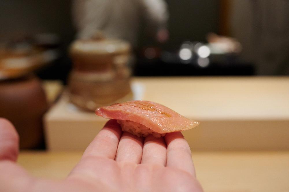 Toro (fatty tuna)