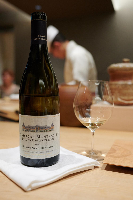 Chassagne-Montrachet Premier Cru Les Vergers 2013, Domaine Genot-Boulanger