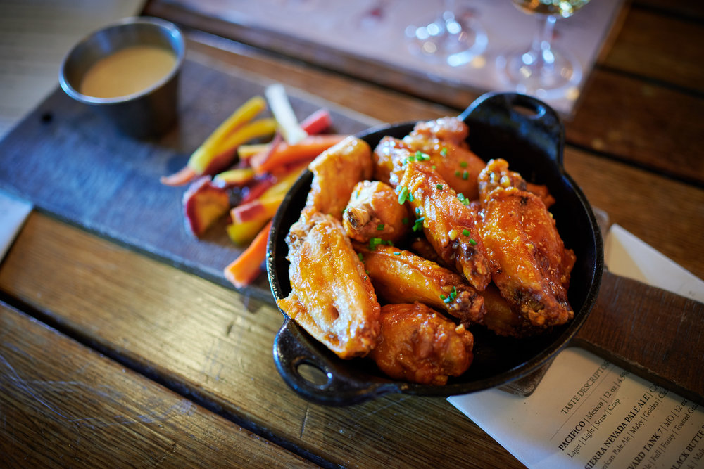 Chicken Wings at High West Distillery