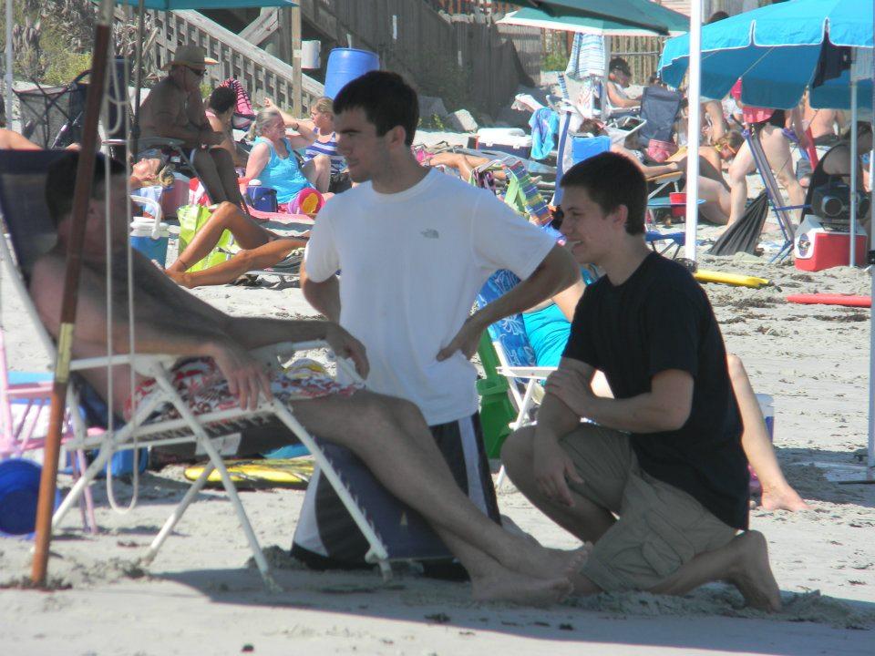 STP beach evangelism