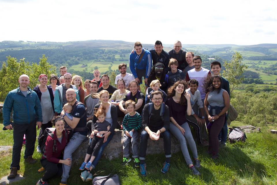 A hike in the Peak District with our ministry team.