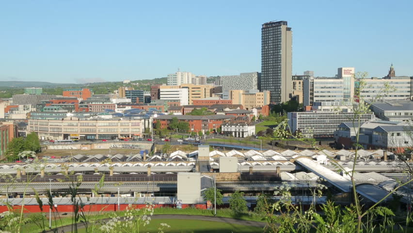 A beautiful shot of some Sheffield skyline.