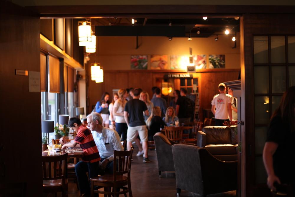 J. Arthur's Coffee allowed the CCP team to do a large-group fundraiser!