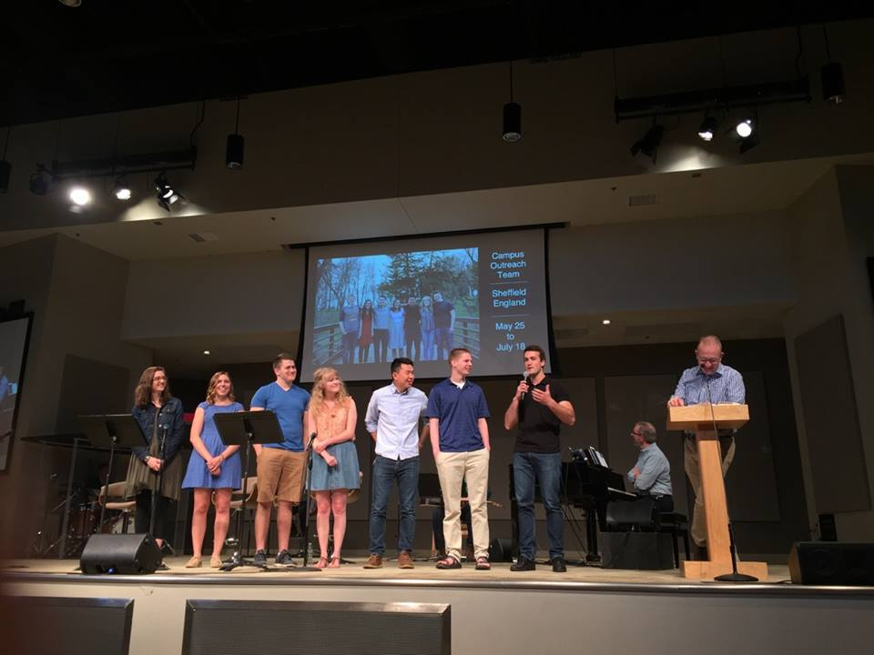 Last Sunday, our team was commissioned for service at Bethlehem Baptist Church.