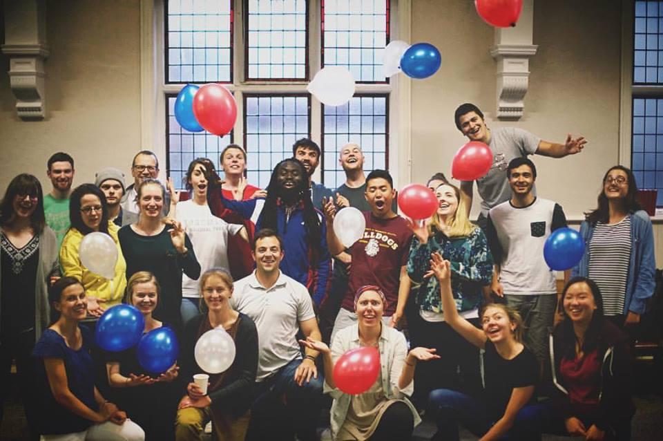 Our British team surprised us with an independence-themed training on the fourth of July.