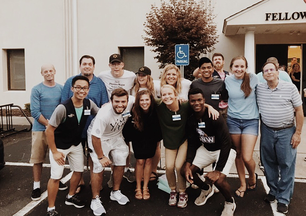 Walmart is the place that students spent most of their time and developed many friendships. Thanks to Walmart for letting us come and serve for you over the summer! #stp18established#calledtoserve#walmart