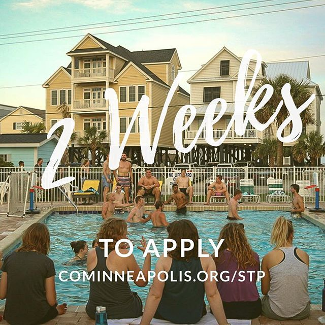 ✌🏼weeks til the application deadline for STP 2019 • tag the friend you most want there (or the always forgetful one)