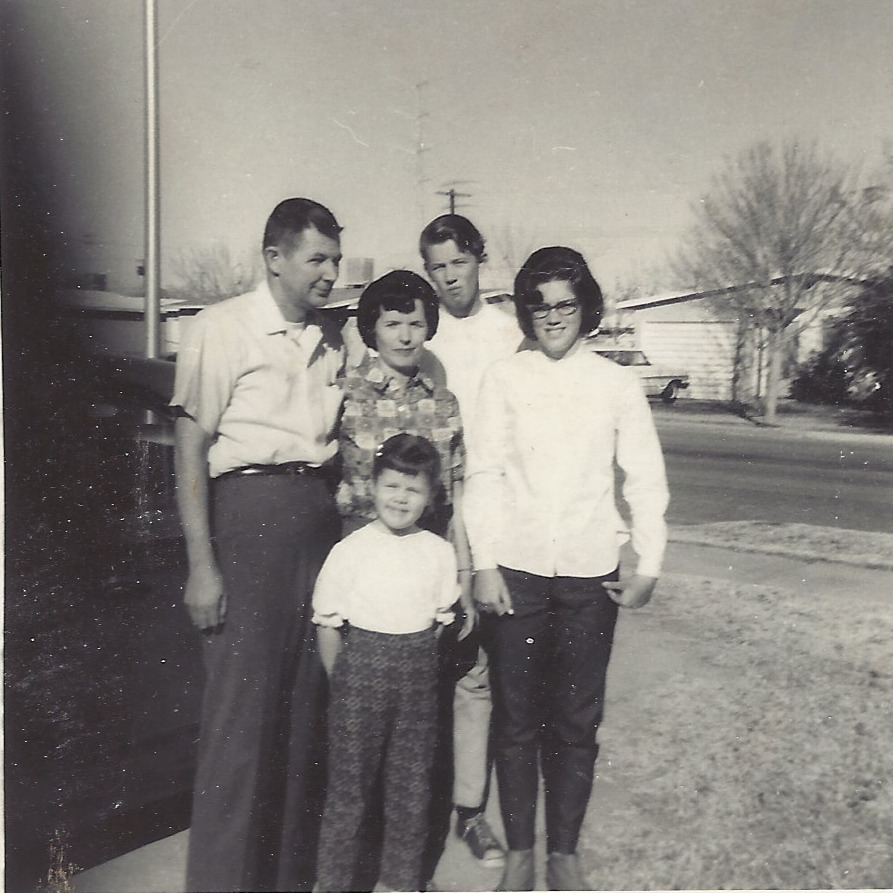 Hill Family: Boompa, Momo, Charley, Mom (Sheri), and Melanie